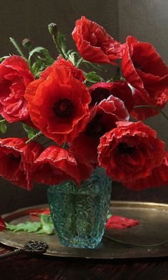 Poppies are pleasing. Beautiful Flower Arrangements, Diy Flowers, Flower Vases, Flower Art, Floral Arrangements, Beautiful Flowers, Bouquet Flowers, Flower Quotes, Arte Floral