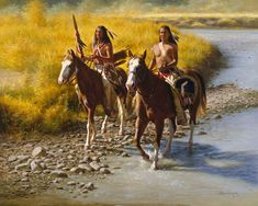 Sioux Scouts by Alfredo Rodriguez ~ Native Americans
