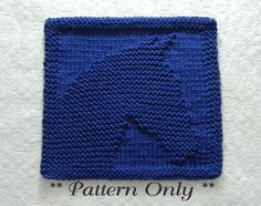 HORSE Knit Pattern Square for knitting dishcloths, wash cloths, quilt squares, baby blankets, etc.  PDF *Instant* Download Pattern -- in English only -- for Knitting the HORSE Pictured. Genuine ~ Original Design by Aunt Susan!  The cloth pictured is NOT included but is what your final product will look like. (Please contact me if you wish to purchase a finished cloth.)  This is an easy pattern but requires some basic knitting skills, such as casting on, using knit and purl stitches, binding…