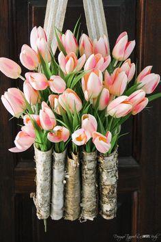 Tulip doorhanger
