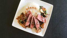 Wereldgerecht Japanse Beef Teriyaki moet zijn kip Teriyaki