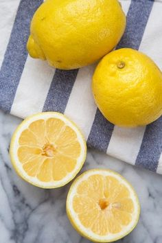 A few weeks ago we published a roundup of the best ways to clean the kitchen with a lemon. In the comment section of that post, a reader pointed out we'd neglected to mention her favorite way to clean with a lemon, even one that's been sliced, juiced, and headed for the compost. I tried out her idea, and am now officially a fan of this cleaning tip. Here's what she suggested.