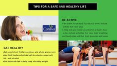 It is always important to keep yourself #Fit & safe. Here are some tips for a safe & #helathy #life, follow them. #health #healthtips