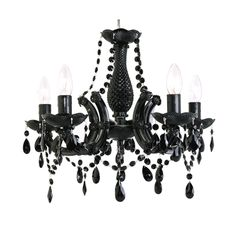 black crystal chandelier marie therese 5 lamp black crystal chandelier by amazingchandeliers black crystal chandelier lighting