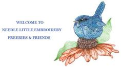 Designer singles for home embroidery and applique' ...sign up & receive free sample embroidery designs.