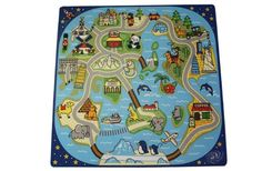 81 Piece Interactive Soft Foam Road Trip Playmat, 2015 Amazon Top Rated Puzzle Play Mats #BabyProduct