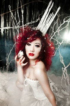 Snow Queen #cosplay by Chubear Cosplay #Halloween #icequeen