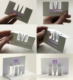 """""""M"""" logo and business card"""