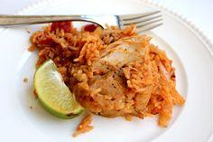 chipotle chicken rice