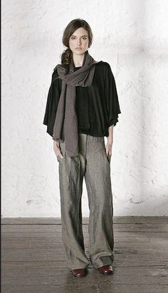 Found on a blog referring to a Swedish designer - looks so soft, comfortable and timeless