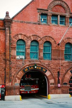 Fire Station by Architectural Historian, This is the station that lost FF's fighting a brownstone fire in April, 2014....Boston, MA.