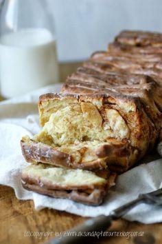 Apfel und Zimt - Pull-Apart-Bread - kaum gebacken, schon weg!!!! - Zimtkeks und Apfeltarte