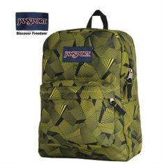 JanSport Alien Green Deco Prism Backpack - Jansport backpack-Campaign Categories - TopBuy.com.au