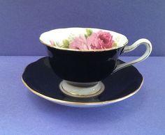 Royal Albert Teacup Set American Beauty Bone by Whitepearlfinds