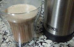 Café mocha à base de bulletproof coffee, source gras d'excellente qualité qui va vous donner de l'énergie tout au long de la journée.