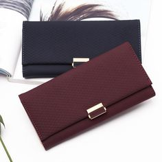 Woman Wallet Clutch Plaid Wallet Zipper Female Ladies Hot Change Women Luxury Credit Phone Card Holder Coin Purses For Girls - - Visit the post for more. Wallets For Girls, Cute Wallets, Purses And Handbags, Coin Purses, Leather Card Wallet, Wallets For Women Leather, Girls Bags, Small Wallet, Shoes