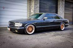 Mercedes-Benz W126 560SEC on Niche Citrine Wheels