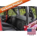 Jeep Backbone - Safari Seats - Fits 2007 to 2016 JK Wrangler and Rubicon - 4WD.com