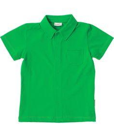 Baba Babywear super green shirt with short sleeves. baba-babywear.en.emilea.be