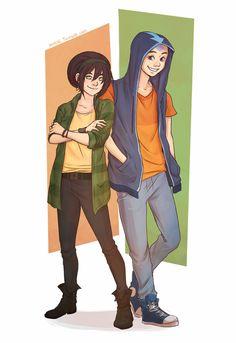 Toph & Aang