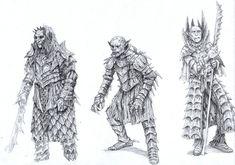 Orcs by *eoghankerrigan on deviantART ~ LOTR