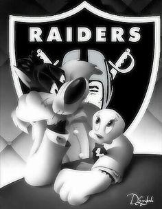 Raider fans... Raiders Football Team, Raiders Girl, Nfl Oakland Raiders, Nfl Football, Raiders Wallpaper, Raiders Stuff, Lowrider Art, Raider Nation, First Nations