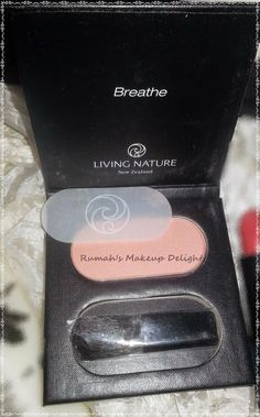 Living nature Products swatches, review and look