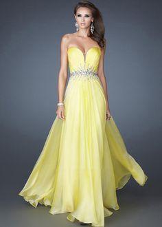 Long Yellow Dress \ 2016  Fashion Trends