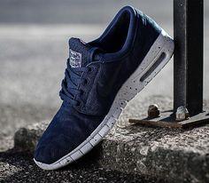 Nike Stefan Janoski Blau Orange