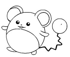 bold pikachu coloring pages - photo#19