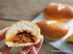 Sambal Ikan Bilis Buns (Spicy Paste Anchovies Buns)