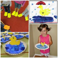 Darling Duck Crafts for Kids to Make – Crafty Morning Darling Duck Crafts for Kids to Make – Crafty Morning Toddler School, Toddler Fun, Toddler Crafts, Pond Crafts, Bus Crafts, Craft Activities, Preschool Crafts, Toddler Activities, Crafts For Kids To Make