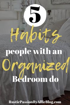 17 Farmhouse Master Bedrooms that you need to copy NOW! - These 5 habits will help you keep spotless and organized room. You will look like a professional wh - Dream Master Bedroom, Farmhouse Master Bedroom, Master Bedrooms, Farmhouse Bed, Easy Craft Projects, Diy Home Decor Projects, Craft Ideas, Diy Crafts, Home Design