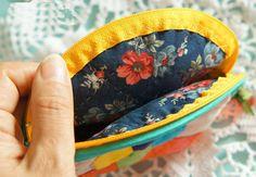 Makeup Bags Tutorials, Diy Quilts, Purses Tutorials. Patchwork & Quilts. Косметичка или кошелек