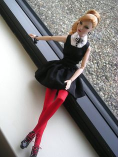 """""""Masterpiece Theatre"""" Giselle by Shuga-shug, via Flickr  from Fashion Royalty by Integrity"""