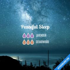 Peaceful Sleep - Essential Oil Diffuser Blend