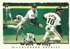 Free: 1995 Topps Walt Weiss - Sports Trading Cards - Listia.com Auctions for Free Stuff