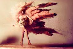kristian schuller fashion moda photography - chicquero - powder splash  www.AustralianPerfumeJunkies.com