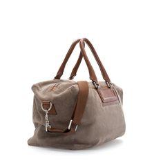 SUEDE BOWLING BAG - Bags - Man | ZARA United States