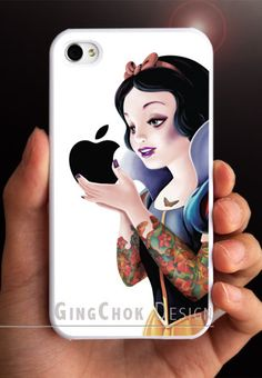 Tatoo iPhone 4 case, iPhone case for iPhone 4 or iPhone 4S. $11.50, via Etsy.