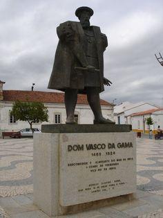 Estátua Vasco da Gama - Vidigueira