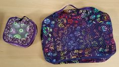 It's Sew Easy Rebecca Kemp Brent sews lightweight packing cubes to maximize luggage space.