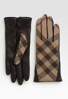 Gorgeous gloves #burberry
