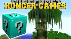 Minecraft: JERRY'S TREE HUNGER GAMES| Lucky Block Mod | Modded Mini-Game...