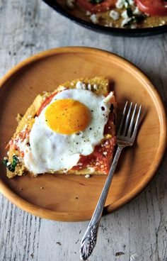 Tomato Basil Socca Pizza - Healthy Green Kitchen