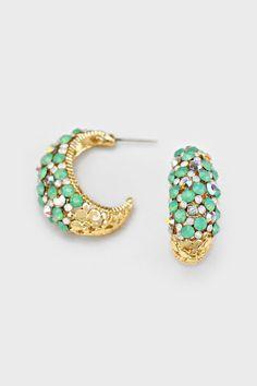 Crystal Amberly Earrings