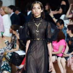 Yasmin Wijnaldum walks Valentino Haute Couture F/W 15