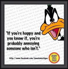 Love me some Daffy Duck