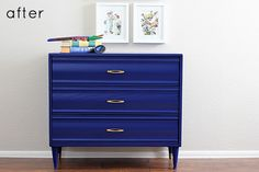 before and after / painted dresser