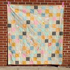 Summer Lovin Picnic #Quilt tutorial by Jeni Baker from In Color Order